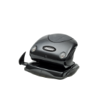 Rexel Precision 215 2 Hole Punch Black/Black