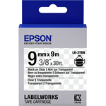 Epson C53S653004 (LK-3TBN) Ribbon, 9mm x 9m