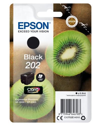 Epson C13T02E14010 (202) Ink cartridge black, 250 pages, 7ml
