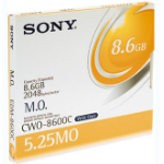 """Sony CWO8600 5.25"""" Magneto-Optical Disc of 8,627MB. 14X magneto optical disk 13.3 cm (5.25"""")"""