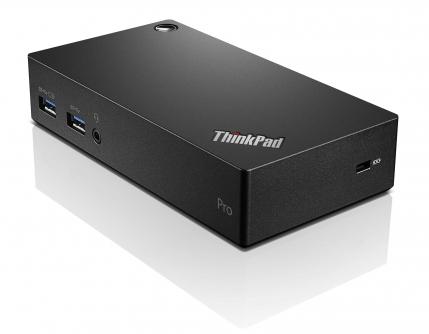 Lenovo ThinkPad USB 3.0 Pro Dock USB 3.0 (3.1 Gen 1) Type-A Black