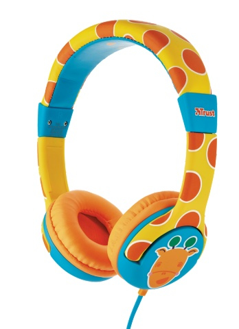 Trust Spila Kids - Giraffe Head-band Cyan,Orange,Yellow