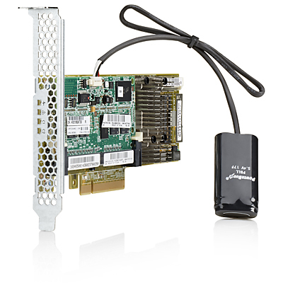 Hewlett Packard Enterprise Smart Array P430/4GB FBWC 12Gb 1-port Int SAS PCI Express x8 3.0 12Gbit/s RAID controller