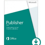 Microsoft Publisher 2013, x32/64, PKL, 1u, 1pc, ESD, ENG
