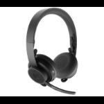 Logitech MSFT Teams Zone Wireless Headset Head-band Bluetooth Graphite