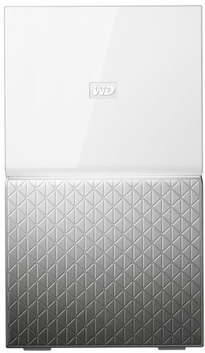 Western Digital MY CLOUD HOME Duo personal cloud storage device 6 TB Ethernet LAN Silver,White