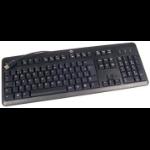 HP 672647-183 USB Belgian Black keyboard