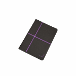 "Urban Factory Collins Folio Universal for all 10"" tablets, Dark Grey / Purple"