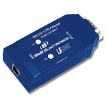 IMC Networks USO9ML2 serial converter/repeater/isolator USB 1.1 RS-232 Blue