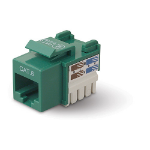 Belkin Category 6 RJ45 Jack - Orange network splitter