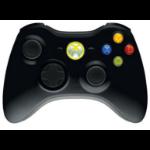 Microsoft NSF-00002 Gamepad Xbox 360 Black gaming controller