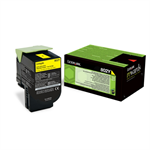 Lexmark 80C20Y0 (802Y) Toner yellow, 1000 pages