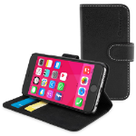 "TheSnugg B00NFXNYSY 5.5"" Mobile phone flip Black mobile phone case"