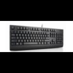 Lenovo 4X30M86904 USB Norwegian Black keyboard