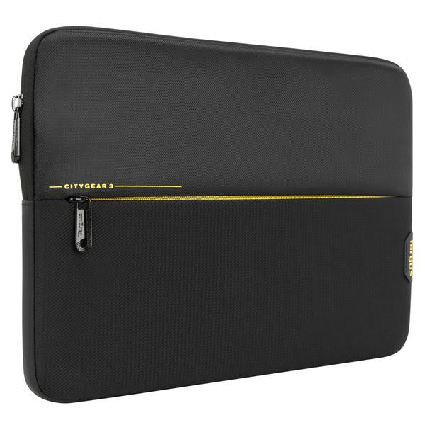 """Targus CityGear notebooktas 33,8 cm (13.3"""") Opbergmap/sleeve Zwart"""
