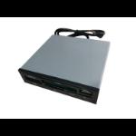 Astrotek 3.5' Internal Card Reader Black All In One USB2.0 Hub CF MS SD Flash Memory Card