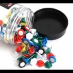 Whitecroft Essentials Value Indicator Pin Assorted Colours PK160