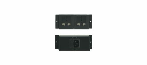 Kramer Electronics TS-1GB socket-outlet Black