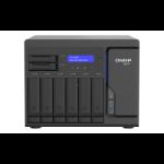 QNAP TS-H886 D-1622 Ethernet LAN Desktop Black, Grey NAS TS-H886-D1622-16G/24TB-GOLD