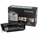 Lexmark 12A8425 Toner black, 12K pages