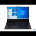 """Lenovo Legion 5 Notebook Black 43.9 cm (17.3"""") 1920 x 1080 pixels 10th gen Intel® Core™ i5 8 GB DDR4-SDRAM 512 GB SSD NVIDIA® GeForce® GTX 1650 Ti Wi-Fi 6 (802.11ax) Windows 10 Home"""