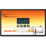 "CTOUCH Laser Sky touch screen monitor 165.1 cm (65"") 3840 x 2160 pixels Black Multi-touch Multi-user"