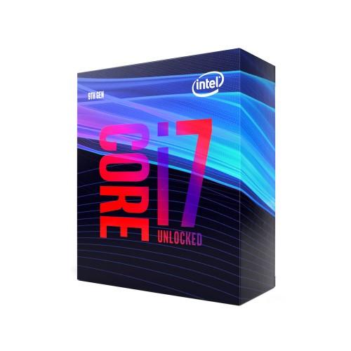 Intel Core i7-9700K processor 3.6 GHz 12 MB Smart Cache Box
