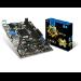 MSI H81M-E34 Motherboard LGA 1150 Intel H81 DDR3 VGA DVI USB 3.0 Gigabit LAN MicroATX