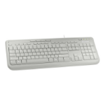 Microsoft Wired Keyboard 600, White USB White keyboard