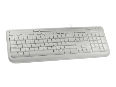 Microsoft Wired Keyboard 600, White ANB-00026