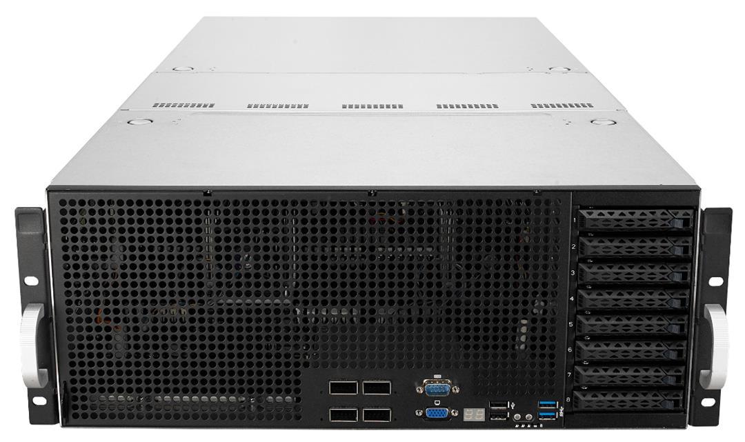 ASUS ESC8000 G4 LGA 3647 Rack (4U) Black,Stainless steel