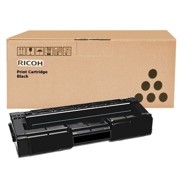 Ricoh 406348 (TYPE SPC 310 HE) Toner black, 2.5K pages @ 5% coverage