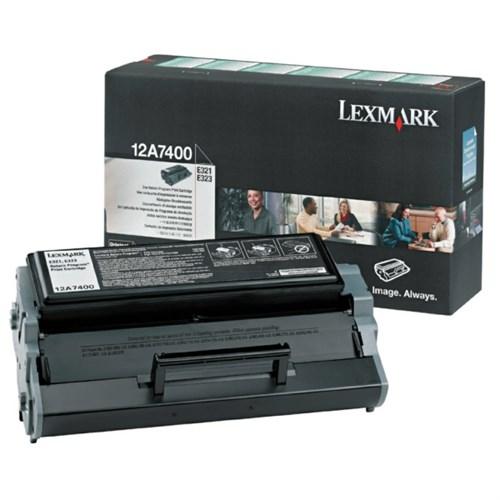 Lexmark 12A7400 Toner black, 3K pages @ 5% coverage