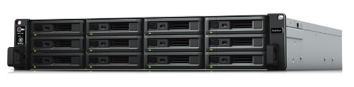 Synology RackStation RS3617xs+ NAS Rack (2U) Ethernet LAN Black, Grey