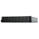 Synology RackStation RS3617xs+ D-1531 Ethernet LAN Rack (2U) Black, Grey NAS