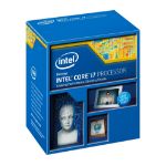 Intel Core ® ™ i7-4771 Processor (8M Cache, up to 3.90 GHz) 3.5GHz 8MB Smart Cache Box processor