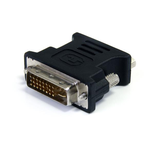 StarTech.com Adaptador Conversor DVI-I a VGA - DVI-I Macho - HD15 Hembra - Negro