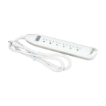 "Belkin F9D160-04 power extension 47.2"" (1.2 m) 6 AC outlet(s) White"