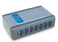 Hub USB Dub-h7 7-port USB 2.0 High-speed With 1x USB Uplink