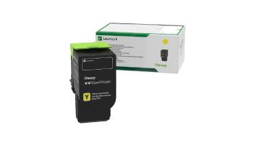 Lexmark 78C20Y0 Toner yellow, 1.4K pages
