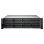 QNAP EJ1600 v2 disk array Zwart