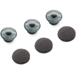 Plantronics 81292-01 headphone pillow Grey Silicone 3 pcs
