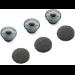 Plantronics 81292-01 Silicone Grey 3pc(s) headphone pillow