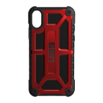 "Urban Armor Gear Monarch mobile phone case 14.7 cm (5.8"") Cover Black,Red"
