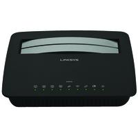 Linksys X1000 ADSL2+ Wi-Fi Ethernet LAN Black