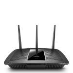 Linksys EA7300 router inalámbrico Doble banda (2,4 GHz / 5 GHz) Gigabit Ethernet Negro