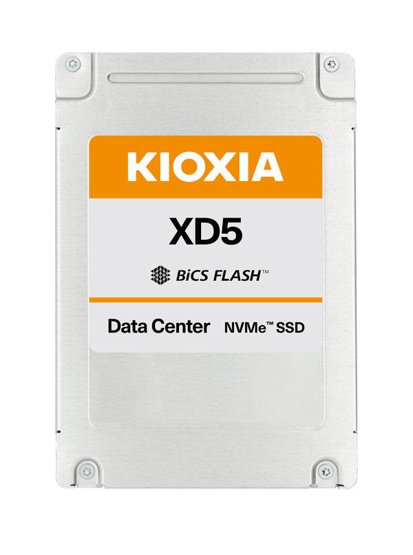 """Kioxia XD 5 2.5"""" 3840 GB PCI Express 3.0 BiCS FLASH TLC NVMe"""