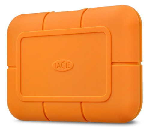 LaCie Rugged 500 GB Orange