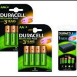 2-Power 4 x AA NiMH, 4 x AAA NiMH, 2400 mAh Nickel Metal Hydride 2400mAh rechargeable battery