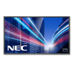 "NEC MultiSync P801 PG - 80"" - Full HD - LED - Protective Glass - Public Display"